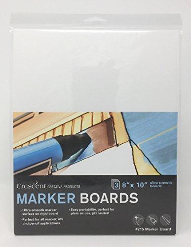 Crescent Creative Products 215-0810 Art & Illustration Marker Board, 8