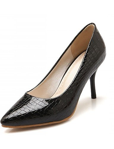 ZQ Zapatos de mujer-Tac¨®n Stiletto-Tacones-Tacones-Oficina y Trabajo / Vestido / Casual-Microfibra-Negro / Rojo / Blanco , red-us10.5 / eu42 / uk8.5 / cn43 , red-us10.5 / eu42 / uk8.5 / cn43 white-us8 / eu39 / uk6 / cn39
