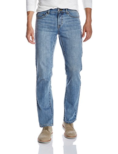 Quality Durables Co. Men's Regular Fit Jean 34 x 32 Light Wash
