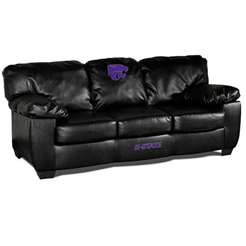 Imperial NCAA Kansas State University Leather Classic Sofa, One Size, Multicolor (University Classic Sofa)