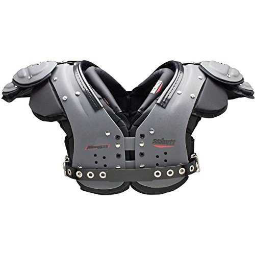 Wr Football Shoulder Pads Rib - Schutt Sports Air Maxx Flex 2.0 QB/WR Shoulder Pad, XX-Large