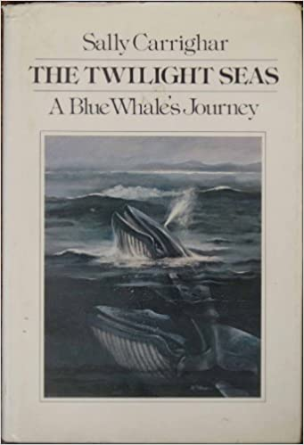 The Twilight Seas: A Blue Whale's Journey