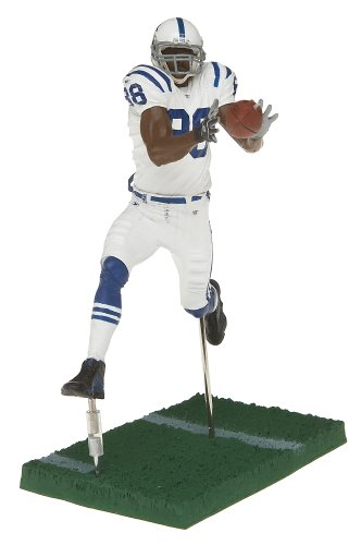 new styles c0fe8 d0cb3 NFL Series 12 Figure: Marvin Harrison Indianapolis Colts White Jersey