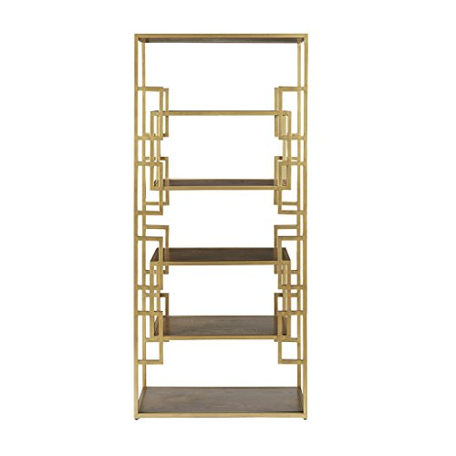 Randall Bookcase Gold See ()