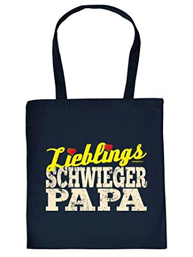 Lieblings SCH.. PAPA -Tote Bag Henkeltasche Beutel mit Aufdruck. Tragetasche, Must-have, Stofftasche. Geschenk