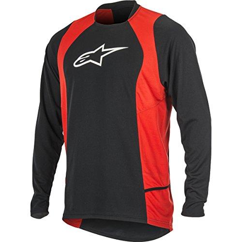 Alpinestars Men's Drop 2 Long Sleeve Jersey, Medium, Blac...