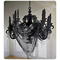 Amscan 670455 Haunted Mansion Candelabra with Gauze 16 1/4″ x 23″ 1 ct