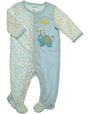 ABSORBA Baby-Boys Newborn Layette Gown