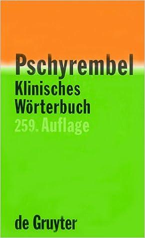 Pschyrembel klinisches wörterbuch (259. Auflage). : otto dornblüth.