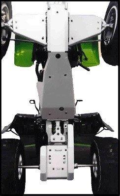 Swingarm, Sprocket & Rotor Guard, Suzuki LT-Z400