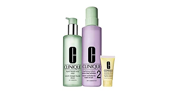 CLINIQUE FIT - Estuche De Regalo Set Jumbo Piel Seca/Mixta Clinique: Amazon.es: Belleza