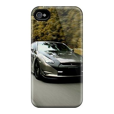 Nueva Tpu carcasa Premium iphone 4/4S Skin carcasa (Nissan ...