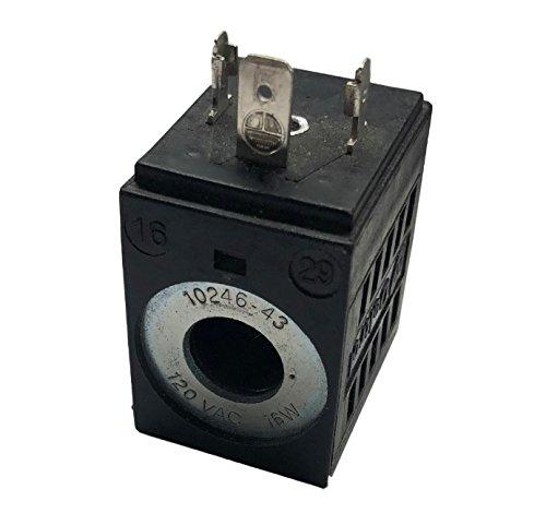 Deltrol 10246-43 120V Solenoid Coil 16W Hydraulic Power Unit Lift Dump
