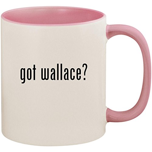 got wallace? - 11oz Ceramic Colored Inside and Handle Coffee Mug Cup, ()