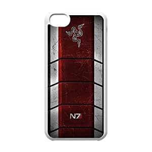 iphone5c phone cases White Mass Effect fashion cell phone cases HYTE5039564
