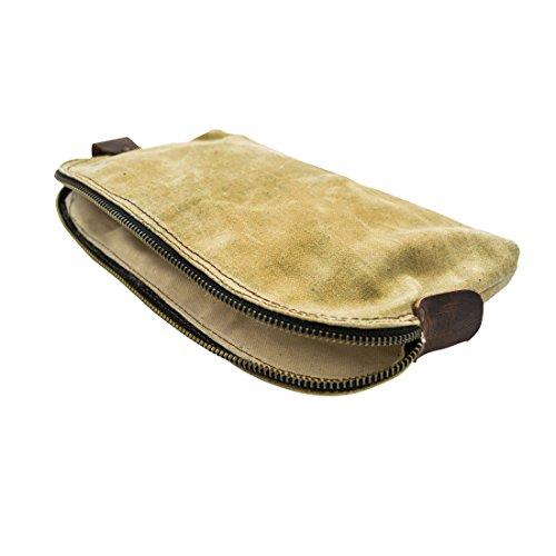 Wasserfeste, gewachste, multifunktionale, nützliche Canvas-Tasche mit beständigem Leinenfutter