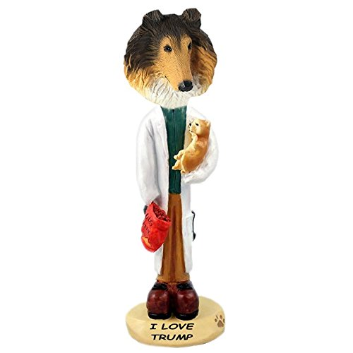 Sable Collie Figurine (Sable Collie Veterinarian Doogie Collectible Figurine)