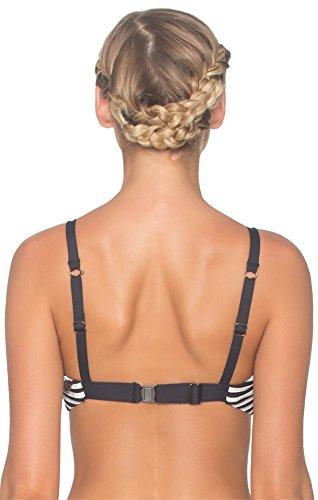 Swim Systems Women's Underwire Bikini Top (D+ Cup) Silver Lining 32DD