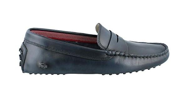 Lacoste Concours 14 Slip on Loafer - Bañador para Hombre, Azul (Azul Oscuro), 10,5 D(M) US: Amazon.es: Zapatos y complementos