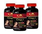 Product review for Epa omega 3 - OMEGA 8060 Fatty Acids 1500mg - Vision health - 3 Bottles 180 softgels
