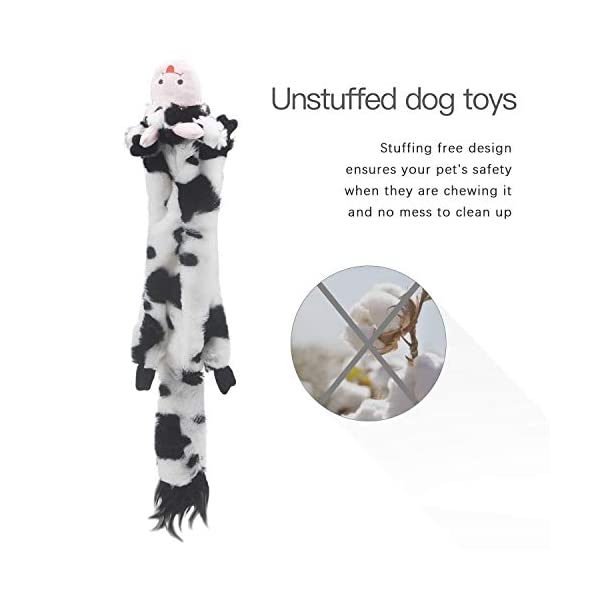 SHARLOVY-Dog-Squeaky-Toys-5-Pack-Pet-Toys-Crinkle-Dog-Toy-No-Stuffing-Animals-Dog-Plush-Toy-Dog-Chew-Toy-for-Large-Dogs-and-Medium-Dogs-Squeeky-Doggie-Toys-Puppy-Toys-Squeak