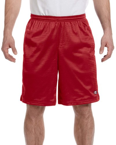 Champion 3.7 oz. Long Mesh Shorts with Pockets M