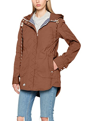 Khujo Tapioca Navassa Blouson 551 Jacket Washed Nylon Femme Beige rprqwOA