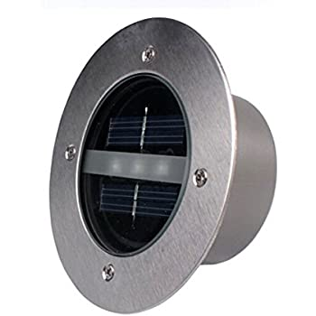 Amazon lightess solar led recessed ground deck dock patio lightess solar led recessed ground deck dock patio light for outdoor garden decoration mozeypictures Images