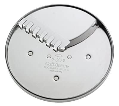 Cuisinart DLC-036TXAMZ 6-by-6mm Fruit, Vegetable and French Fry Disc, Fits 14-Cup Processor