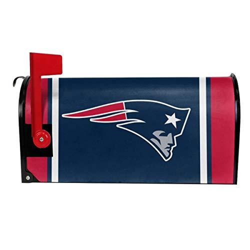 Gdcover Team Design New England Patriots Garden Magnetic Mailbox Cover for Outdoor Decor