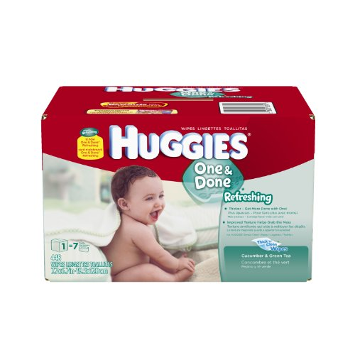 Huggies Done Refreshing Wipes Refill