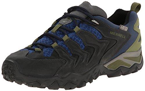 Merrell Cham Shift Vent Gtx Uomo Scarpe Da Trekking E Da Trekking Multicolore (castello Rock / Tahoe Bl)
