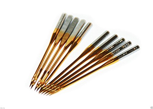 (30 Organ Titanium coated. Sewing Machine Needles)