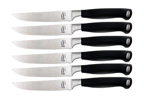 Cheap Berghoff 6 Piece Bistro Steak Knife Set, Silver