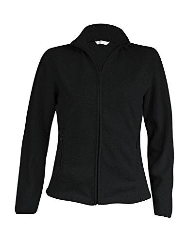 KBK907 Maureen Damen Fleece Jacke, Farbe:Black;Größen:L