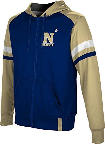 ProSphere United States Naval Academy Men's Full Zip Hoodie - Old School FF16