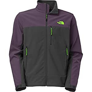 The North Face Apex Bionic Softshell Jacket - Men's Asphalt Grey/Dark Eggplant Purple, XXL by The North Face