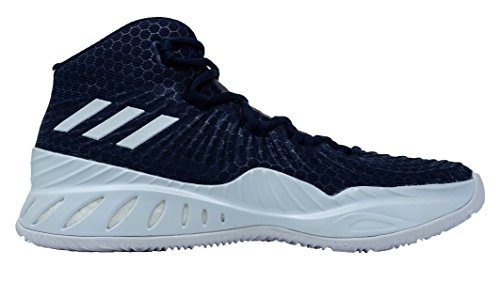 discount 2014 newest low shipping fee sale online adidas Crazy Explosive 2017 NBA/NCAA Shoe Men's Basketball Dark Navy-white jxMyd
