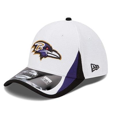 Baltimore Ravens New Era 39THIRTY 2013 Official Training Flex Fit Hat - White