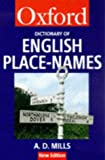A Dictionary of English Place-names (Oxford Paperback Reference)