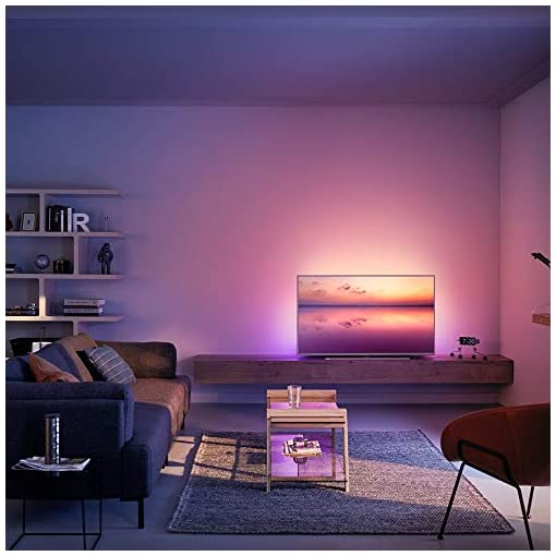 Philips 55PUS6814/12 55-inch 4K UHD Smart TV with Ambilight, HDR 10+, Dolby Vision, Dolby Atmos, Alexa Built-in – Silver…