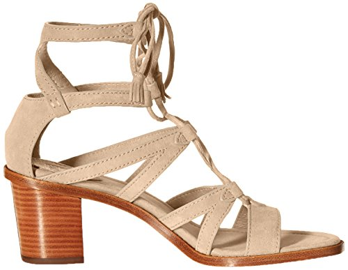Frye Womens Brielle Gladiator Dress Sandal Grey