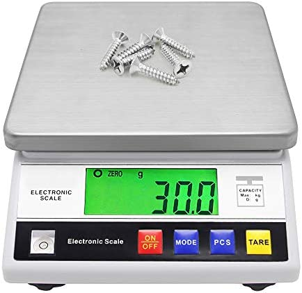 CGOLDENWALL High Precision Scale 6kg 0.1g Digital Accurate Electronic Balance Lab Scale Laboratory Industrial Scale Weighing and Counting Scale Scientific Scale CE 0.1g (6kg, 0.1g)