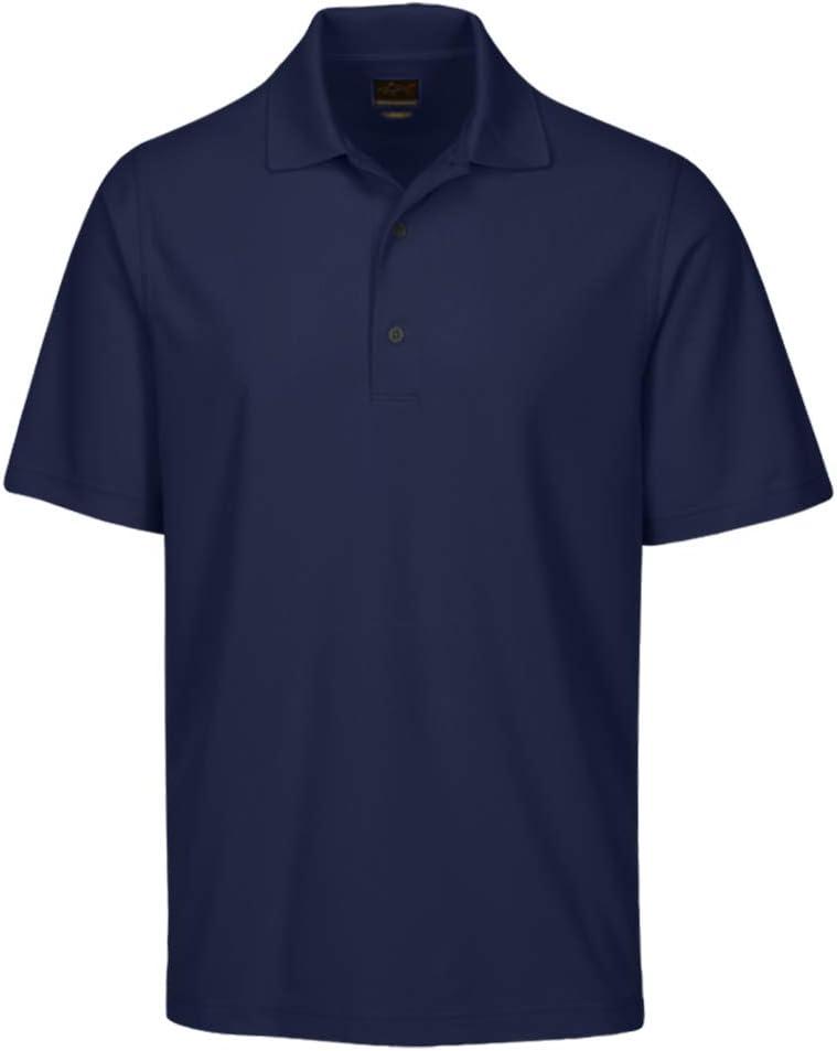 X-Large Navy Greg Norman Collection Mens Protek Micro Pique Polo Shirt