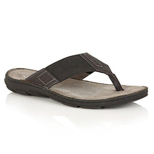 Lotus LOTUS Flip Flop, Flat Sandals SEBASTIAN Black Black