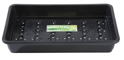 Garland GAL47FHB3 Standard Full-Size Seed Trays with Holes - Black (3-Piece)