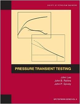 Book Pressure Transient Testing
