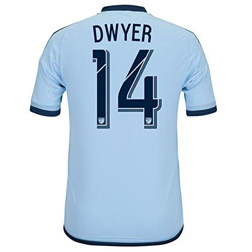 アレキサンダーグラハムベル辞書バットAdidas DWYER #14 MLS Sporting Kansas City Home Jersey 2016 (Authentic name & number) /サッカーユニフォーム スポルティング?カンザスシティ ホーム用 ドワイヤー