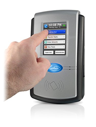 Lathem Pc600 Touch Screen Time Clock System Buy Online