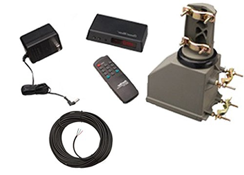 Channel Master 9521A Antenna Rotator & 75' Rotor Wire - TV HAM CB WIFI Rotor by Channel Master